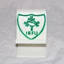 irisch Rugby Telefon Stand Halter Unterstützung iPhone Android Telefon Sport Stand Lager Universal Kleeblatt irisch Rugby Sport Telefonständer Kleeblatt Irland irfu