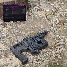 borderlands 3 fastidieux machine pistolet accessoires cosplay borderlands