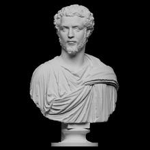 retrato homem septimius Severus Varredura fracasso homem retrato escultura smk openglam artec eva smk open