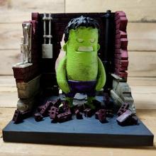 diorama mini dude - smash - figurine included figurine marvel mini hulk diorama wekster