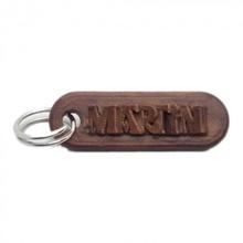 Martin personalizado chaveiro gravado cartas chaveiro Customizável personalizado Martin llaveros nomes personalizado nombres