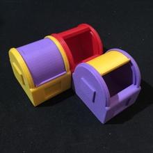 Stackpods Schlafzimmer Box Clip Schreibtisch Kopfhörer Schmuck Küche modular Lager Schmuck einrasten gleiten Kabel erweiterbar