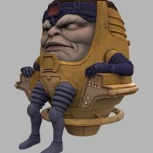 modok marvel character comic villain welbot