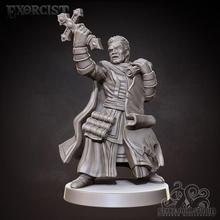 esorcista 32mm scala miniatura tavolo diavolo draghi dungeon fantasia combattente sacerdote maschio gioco tavolo talismano esorcismo d d spirito dnd esploratore esorcista