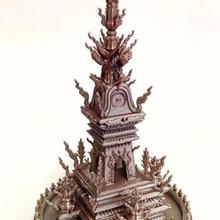 chiang rai l'horloge tour Thaïlande architecture l'horloge architecture art tour miniature Asie Thaïlande asiatique tour l'horloge thaïlandais miniworld miniworld3d chiang Chiangrai rai