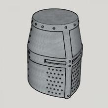 medieval great helm standard ver size ver medieval great helm standard ver size ver