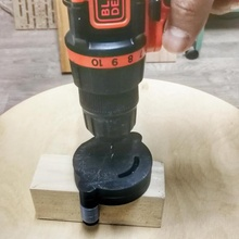 self-centering hole jig hole jig woodworking  center centering