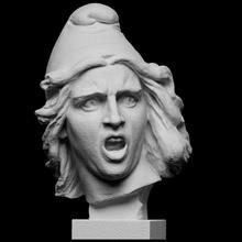 genius liberty la marseillaise scan bust sculpture woman france liberty patriot allegory personification freedom arc-de-triomphe artec cc0 openglam artec-eva nationalmuseum marseillaise francois-rude