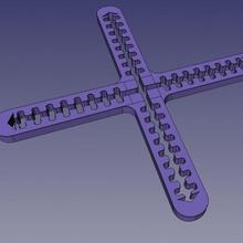 Graph Hersteller Schablone Bildung 777os3dp