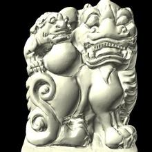 pixiu madre bambino antico bestia Cinese mitico