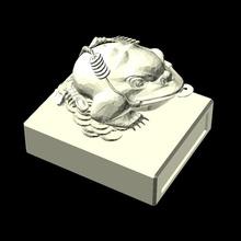 rospo foca antico Cinese mitico