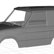gamma rover dakar tridente corpo macchina stampabile 3d macchina stampabile corpo passatempo conchiglia Radio tridente rc fessura rover scalextric controllo gamma tamiya dakar miniz 1 10 1 32