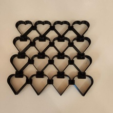 corazón Galleta cortador jardín Navidad Galleta corazón cocina herramienta