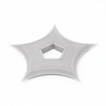 penta shuriken accesorios cosplay batman disfraz Víspera Santos héroe ninja soldado estrella arma disfraces proyectil soldados shuriken samurai estrella arrojadiza lanzando estrellas ninjas ninjutsu samurái guerrero ninja disfraz disfraz Halloween