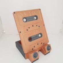 Telefon Stand Kassette gestalten Gadgets Elektronik Halter Unterstützung Schreibtisch Anzeige Büro Telefon Stand Kassette Handy Kopfhörer Ohrhörer Tablette Halter Unterstützung