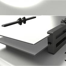 semi printed documento vassoio upcycling freecad documento titolare supporto documento vassoio