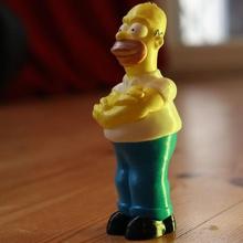 Omero simpson cartone animato divertimento giocattoli figure futurama bender simpson maggie Omero friggere bart