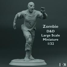 zombie d d grande scala miniatura 1 32 orrore zombie miniatura d d 1 32