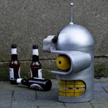 bender testa cross section giocattoli Giochi arte attraversare robot tecnologia fan futurama bender