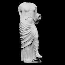 aphrodite urania so-called aphrodite tortoise scan body classical female greek roman sculpture aphrodite tortoise fabric fragment artec urania openglam artec-eva smk-open