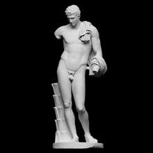 Ermete belvedere antinoo scansione Dio mitologia scultura nudo gesso Vaticano Ermete prassitele antinoo belvedere artec idealizzato Adriano openglam contrapposto artec eva smk open museo pio clementino