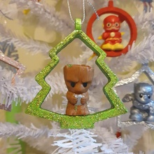 christmas tree ornament pencil toppers ooshies decoration store christmas decoration gift marvel ornament pencil topper tree dc kid oosheis