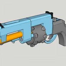 vanguard revolver 3d print kit toy gun vanguard revolver 3d print kit toy gun