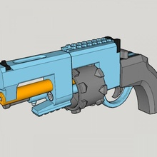 vanguard revolver tactical 3d print kit toy gun vanguard revolver tactical 3d print kit toy gun