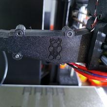 prusa orso mk3s estrusore cavo copertina guaina costruire 3d stampante