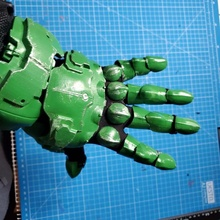Untergang Jägerin Handschuh Stulpe Rüstung Kostüm Cosplay Stulpe Untergang Handschuh Doomguy Weltuntergangsjäger