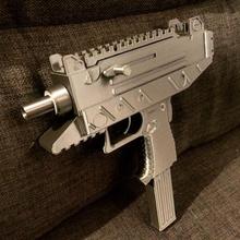 uzi réplique pistolet soutenir arme réplique fanart smg tirer 9mm arme feu bandit uzi