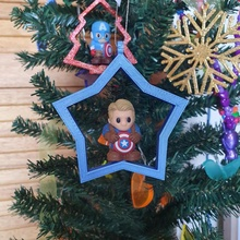 christmas tree ornament pencil toppers ooshies decoration christmas decoration gift marvel pencil topper tree dc ironman kid ooshies capitanamerica