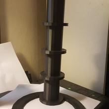 bobine tour construire 3d imprimante titulaire soutien bobine filament tour porte filament porte bobine support filament a10t spooltower