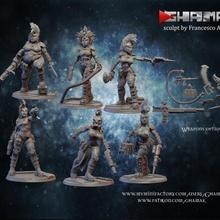 banda escher gioco sci fi guerra warhammer miniatura necromunda martello tavolo gioco guerra schermaglia wh banda