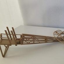 fusoliera ww1 combattente aeromobili collezione fascicolo 2 niueport 28 Fai Lego puzzle giocattolo legna miniatura modelkit diorama ww1 modellino in scala woodfilament biplano diorami plamodel modelli plastica megaconstrux nieuport