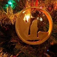natividad Navidad ornamento Navidad bebé Jesús ornamento María estable Joseph pesebre