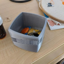 Gitter gestreift Box Box dekorativ Lager Dekor Gitter
