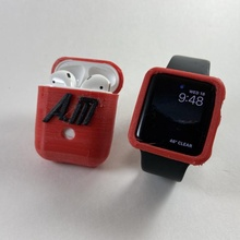 custom apple watch airpod case & garden apple applewatch airpods selfcadchallenge appleproducts