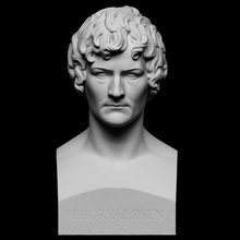 bertel thorvaldsen scan bust master portrait rome sculpture artist italy 3dprinting denmark herm neoclassical self-portrait thorvaldsen artec bertel-thorvaldsen openglam artec-eva thorvaldsen2020