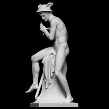 Merkür öldürmek Argus taramak Sanat adam müzik heykel kılıç silah başyapıt erkek çıplak Merkür neoklasik Jüpiter full figure Juno çoban bertel thorvaldsen Argus cc0 Openglam thorvaldsen2020