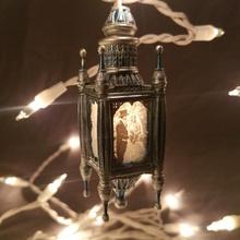 cuerda ligero litofano ornamento jardín Navidad Arte decoración fdm regalo ligero mini Navidad Marte resina ender litofano cuerda anycubic litófanes x1 fotón elegoo epax