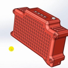 2s 18650 Batterie Box fpv Brille fpv 18650 18650box