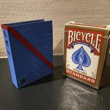 Karte Box Halter Unterstützung Fahrrad Box Karte Zauberer sicher Stand Magie Karten
