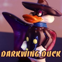 aile sombre canard dessin animé mignonne canard amusement drôle jouets disney Mickey Donald darkwingduk aile sombre