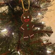 zencefilli çörek adam süs Noel dekorasyon süs