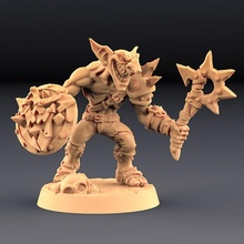 sparksoot goblin - tabletop goblin guns mini miniatures unit miniature monsters tabletop minis wargame patreon enemies dnd pathfinder goblins units artisan guild sparksoot