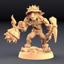 sparksoot goblin - tabletop goblin mini miniatures monster miniature tabletop minis wargame patreon encounter dnd ag pathfinder goblins artisan guild sparksoot