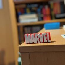 broken marvel logo