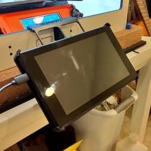impreso sólido prusa recinto Amazonas 7 tableta montar