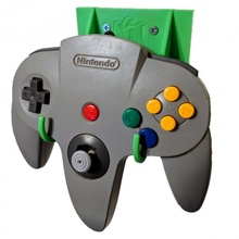 nintendo 64 controller wall mount nintendo controller game gaming mount office stand wall 64 n64 organization